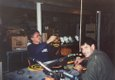 Gluing Dreads into Hats with my father, Jay Berman, 1993.jpg