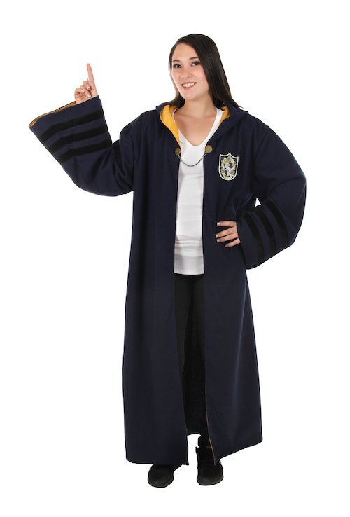 elopeFantastic Beasts Hogwarts House Adult Robe Hufflepuff_adult female.jpg
