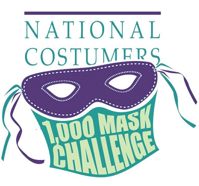 1,000 Mask Challenge Logo