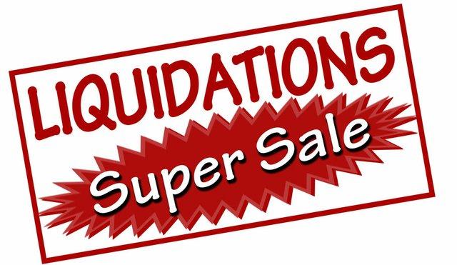 Liquidations super sale